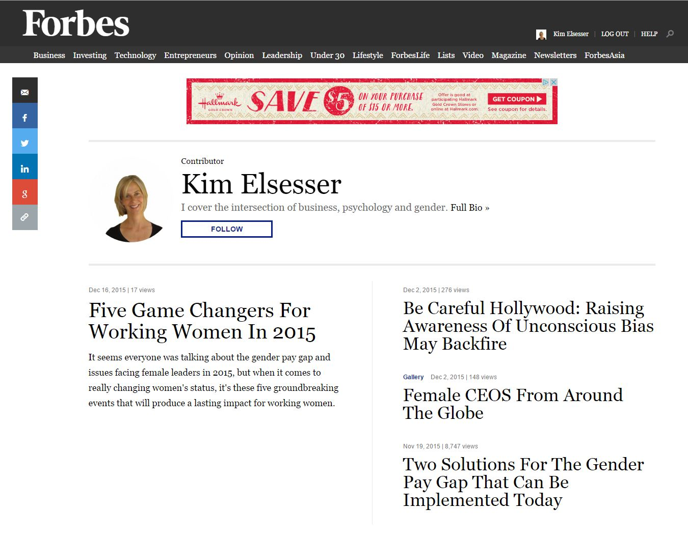Forbes for kimelsesser blog